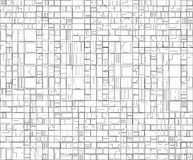 Abstract geometric pattern. High tech structure Royalty Free Stock Photography