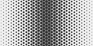 Abstract geometric pattern. Hipster fashion design print hexagonal pattern. Black honeycombs on a light background. Vector. Royalty Free Stock Photo