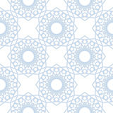 Abstract geometric pattern. Light blue and white seamless background. Vector Stock Images