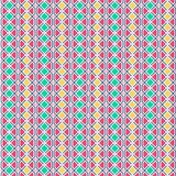 Abstract geometric pattern with lines. A seamless vector background. Graphic modern pattern in yellow, pink, green color.  Royalty Free Stock Photos
