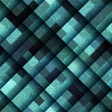 Abstract geometric pattern in matrix style and Royalty Free Stock Photography