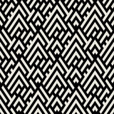 Abstract geometric pattern with maze Royalty Free Stock Image
