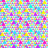 Abstract geometric pattern, neon colors Royalty Free Stock Photo