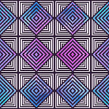 Abstract geometric pattern. Optical illusion. Stock Photography
