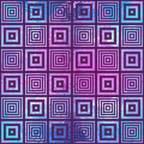 Abstract geometric pattern. Optical illusion. Royalty Free Stock Photography