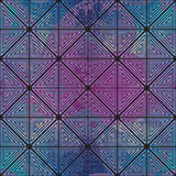 Abstract geometric pattern. Optical illusion. Stock Images