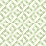 Abstract geometric pattern, patchwork quilting. Regular geometric pattern inspired by traditional patchwork duvet quilting. Only 3 colors - easy to recolor Stock Images