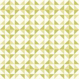 Abstract geometric pattern, patchwork quilting. Regular geometric pattern inspired by traditional patchwork duvet quilting. Only 3 colors - easy to recolor Stock Photography