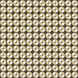 Abstract geometric pattern in retro style. Stock Image