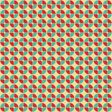Abstract geometric pattern in retro style. Royalty Free Stock Photos