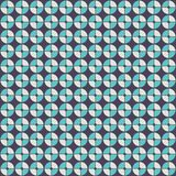Abstract geometric pattern in retro style. Royalty Free Stock Images
