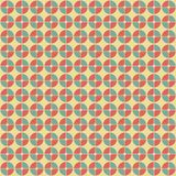 Abstract geometric pattern in retro style. Royalty Free Stock Image