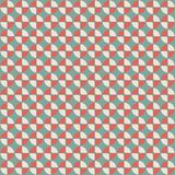 Abstract geometric pattern in retro style. Royalty Free Stock Photo