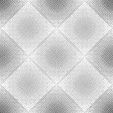 Abstract geometric pattern with rhombuses. Repeating seamless vector background. Gray and white ornament. Stock Photo