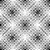 Abstract geometric pattern with rhombuses. Repeating seamless vector background. Gray and white ornament. Stock Images