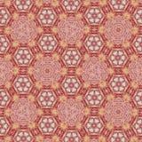 Abstract geometric pattern. Sacred fractal texture mandala design art blue green yellow photo manipulation background polygon royalty free illustration