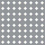 Abstract geometric pattern. A seamless  background. Grey and white texture. Stock Photography