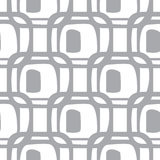 Abstract geometric pattern. A seamless  background. Grey and white texture. Abstract monochrome geometric pattern, seamless background. Simple grey and white Stock Photo
