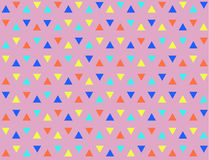 Abstract Geometric Pattern. Pattern seamless with color triagles Royalty Free Stock Photo