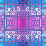 Abstract geometric pattern, seamless vector wallpaper Stock Photography