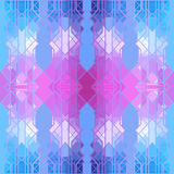 Abstract geometric pattern, seamless vector wallpaper Stock Photo