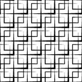 Abstract geometric pattern. Seamlessly repeatable at edges. Royalty Free Stock Image