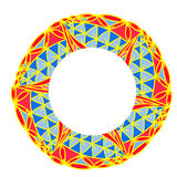 Abstract geometric pattern shape Royalty Free Stock Photography