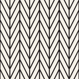 Abstract geometric pattern with stripes, lines. Seamless vector ackground. Black and white lattice texture. Abstract geometric pattern with stripes, lines Stock Photos