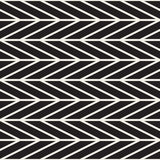 Abstract geometric pattern with stripes, lines. Seamless vector ackground. Black and white lattice texture. Abstract geometric pattern with stripes, lines Stock Images