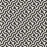 Abstract geometric pattern with stripes, lines. Seamless vector ackground. Black and white lattice texture. Abstract geometric pattern with stripes, lines Royalty Free Stock Images