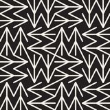 Abstract geometric pattern with stripes, lines. Seamless vector ackground. Black and white lattice texture. Abstract geometric pattern with stripes, lines Royalty Free Stock Photo
