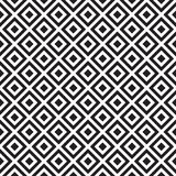 Abstract geometric pattern with stripes, lines, squares. Seamless vector ackground. Black and white lattice texture. Backdrop, geo. Seamless abstract pattern stock illustration