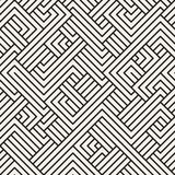 Abstract geometric pattern with stripes. Vector seamless background. Black and white lattice texture. Abstract geometric pattern with stripes. Vector seamless vector illustration