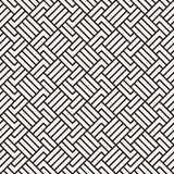 Abstract geometric pattern with stripes. Vector seamless background. Black and white lattice texture. Abstract geometric pattern with stripes. Vector seamless royalty free illustration