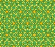Beautiful arabic design template with seamless arabic pattern. Abstract islamic design. Girih pattern stock illustration
