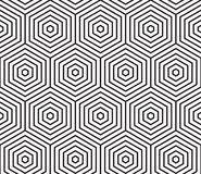 Abstract geometric seamless pattern vector background stock illustration