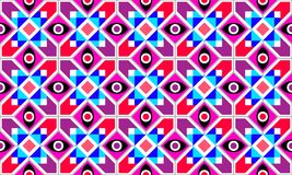 Abstract Geometric vector seamless pattern Royalty Free Stock Image