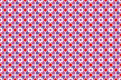 Geometric vector seamless pattern Royalty Free Stock Photo