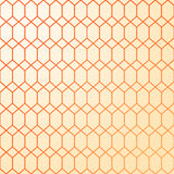 Abstract geometric pattern. Warm colors - yellow and orange. Stock Photography