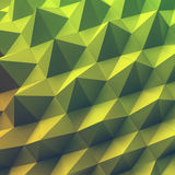 Abstract geometric polygonal background. 3d  illustration. Royalty Free Stock Photo
