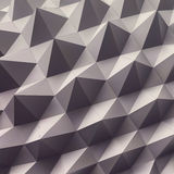 Abstract geometric polygonal background. 3d vector Stock Images