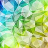 Abstract geometric polygonal background Royalty Free Stock Photography