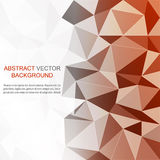 Abstract geometric polygonal background Royalty Free Stock Photos