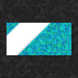 Abstract geometric polygonal background. Stock Photography