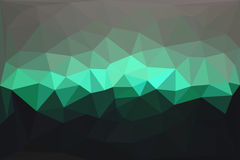 Abstract geometric polygonal background Royalty Free Stock Photo