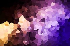 Abstract geometric polygons and triangles vector illustration