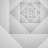 Abstract geometric prototype vector gray backgroun Stock Photos