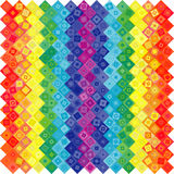 Abstract geometric rainbow background Royalty Free Stock Image