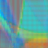 Abstract geometric rainbow checkered background 01. Abstract geometric colorful checkered background. Mosaic tiles of colorful geometric pattern. Stylish check Stock Photo