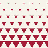 Abstract geometric red graphic design print triangle halftone pattern Stock Images